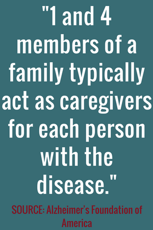 Alzheimer's Caregiver Callout